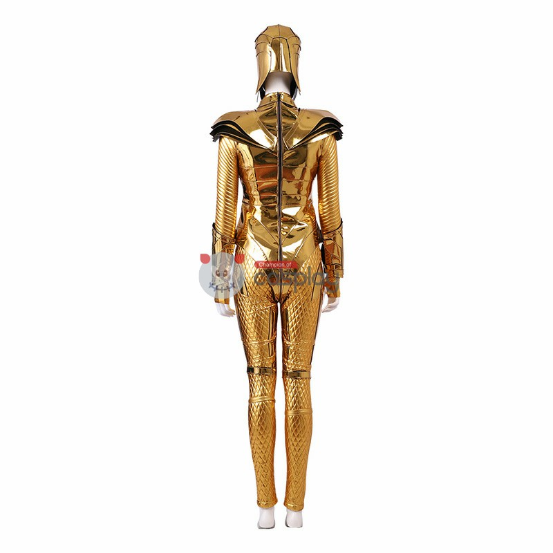 Diana Prince New Golden Eagle Armor Costume DC Wonder Woman 1984 Cosplay Costumes