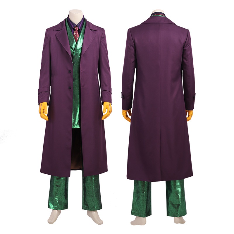 Joker Costume DC Comics Gotham City Cosplay Costumes Top Level