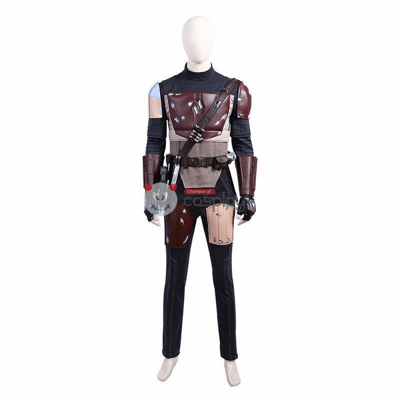 DC Crisis On Infinite Earths Mandalorian Cosplay Costumes