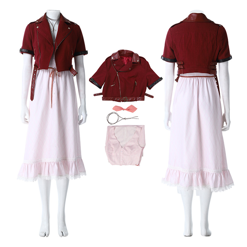 Top Alice Costume Final Fantasy VII Remake Cosplay Costume
