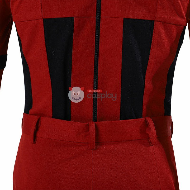 Red Guardian Costumes Black Widow Cosplay Costumes
