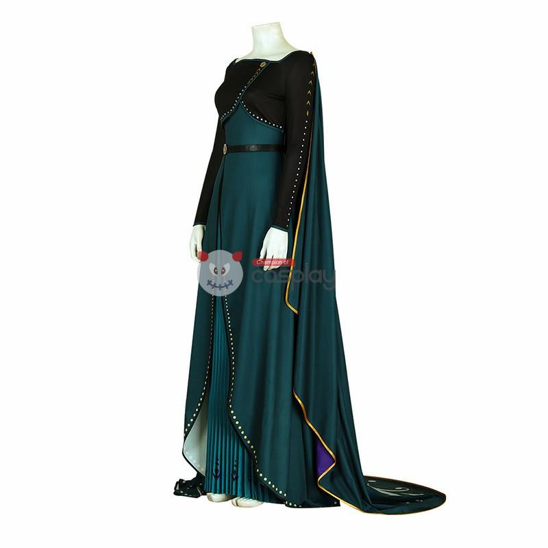 Anna Queen Costume Frozen 2 Cosplay Costumes