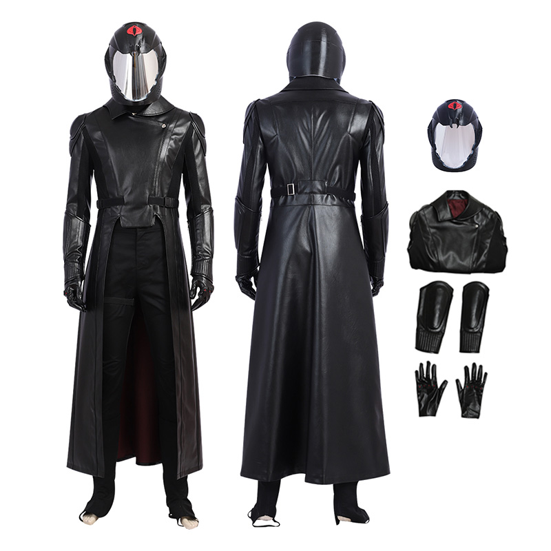 G I Joe The Rise of Cobra Commander Cosplay Costume
