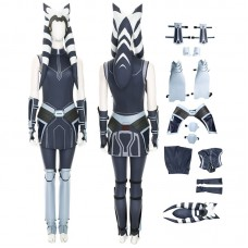 Ahsoka Tano Costume Star Wars The Clone Wars Cosplay Costume