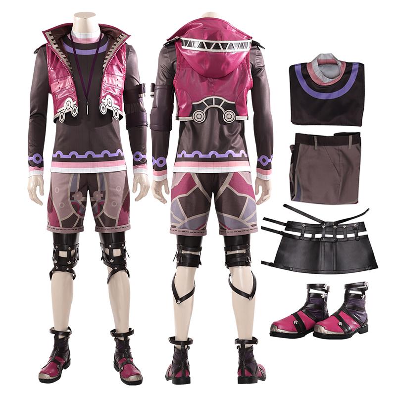 Shulk Costumes Xenoblade Chronicles Cosplay Costume