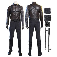 Bucky Barnes Costumes Winter Soldier Cosplay Costume