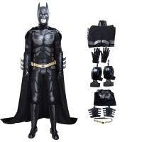 Bruce Wayne Costume The Dark Knight Batman Cosplay Costume