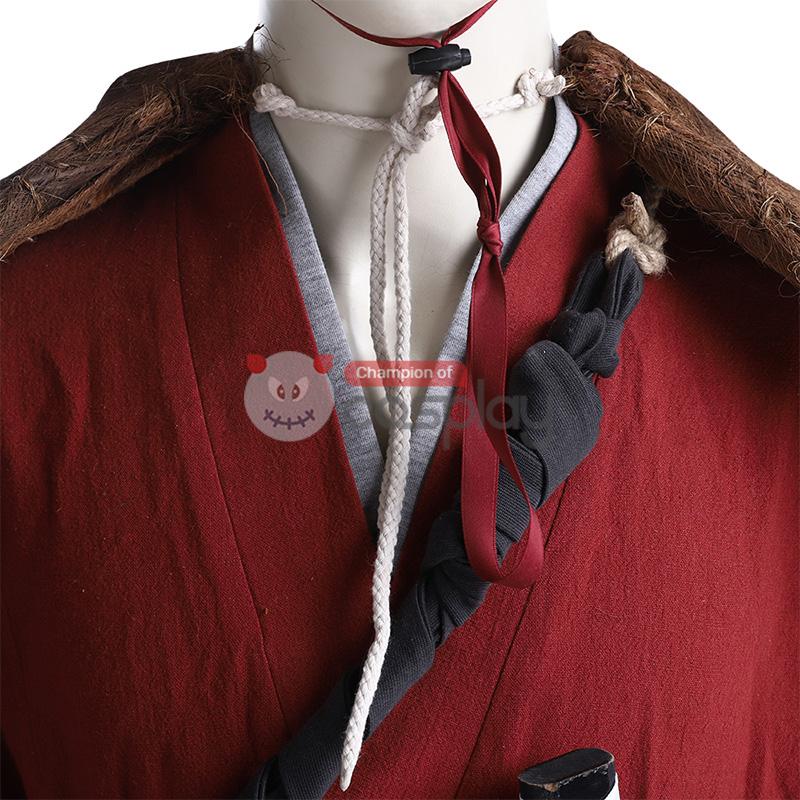 Jin Sakai Costume Ghost of Tsushima Cosplay Costume