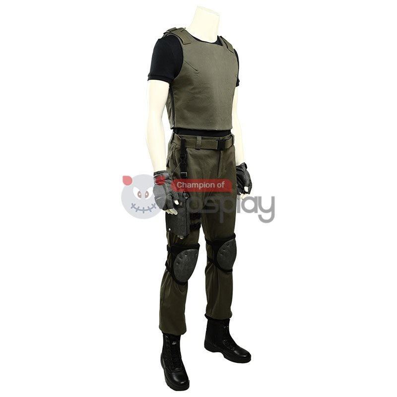 Carlos Oliveira Costume Resident Evil 3 Remake Cosplay Costume