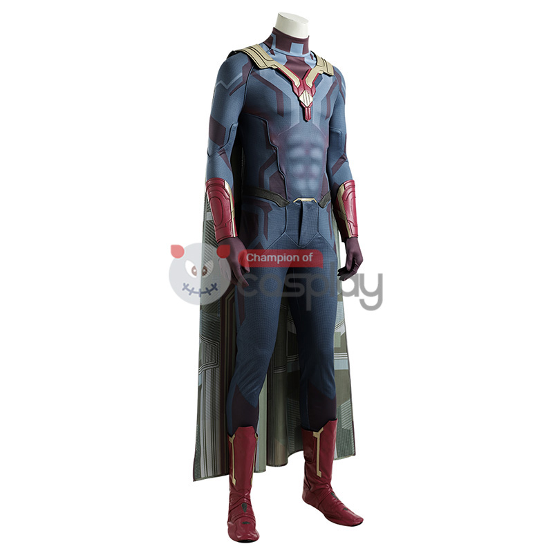 Vision Jumpsuit Wanda Vision Cosplay Costume