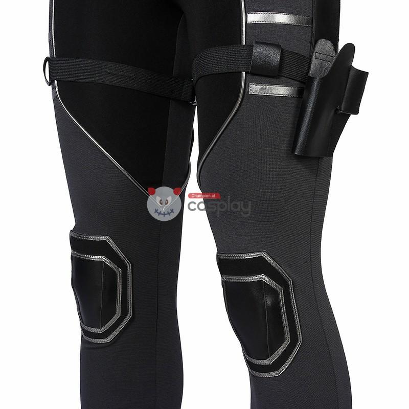 2021 New Black Widow Suit Natasha Romanoff Cosplay Costume Top Level