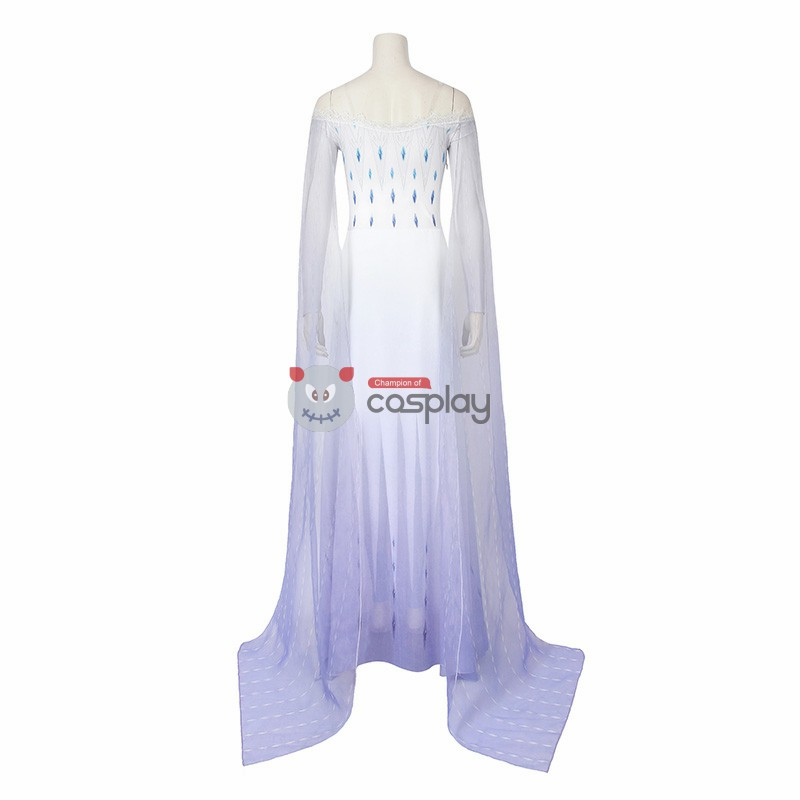 Deluxe Elsa Costume Frozen 2 Cosplay Costumes