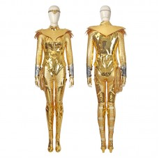 Diana Prince Golden Costume DC Wonder Woman 1984 Cosplay Costumes