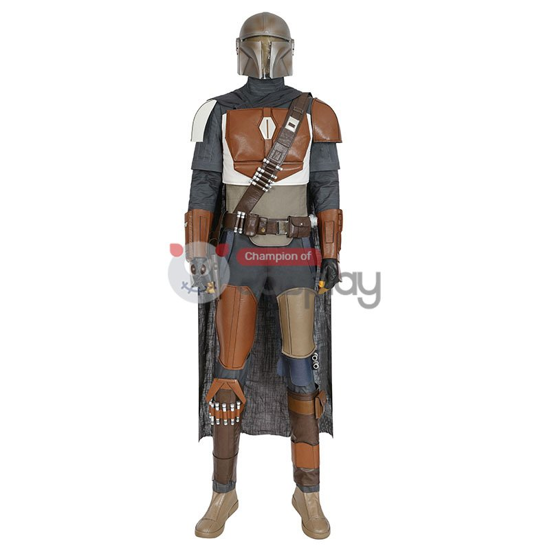 The Mandalorian Costumes Star Wars Cosplay Costume Top Level