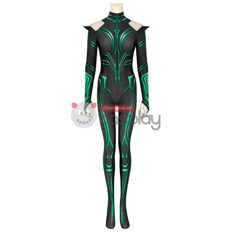 Hela Jumpsuit Thor Ragnarok Cosplay Costume