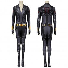 Natasha Romanoff Black Jumpsuit 2020 Movie Black Widow Cosplay Costume