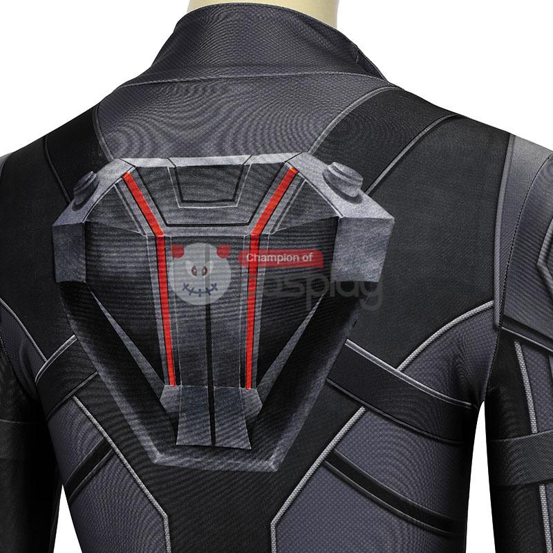 Natasha Romanoff Black Jumpsuit 2020 Movie Black Widow Cosplay Costume