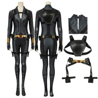 Natasha Romanoff Jumpsuit 2020 Black Widow Cosplay Costumes