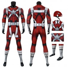 Black Widow Jumpsuit 2020 Black Widow Red Guardian Cosplay Costumes