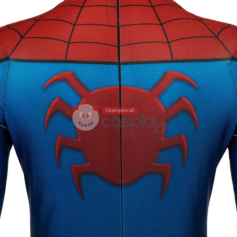 Kids Spider-Man Jumpsuit Spiderman Classic Ultimate Cosplay Costume