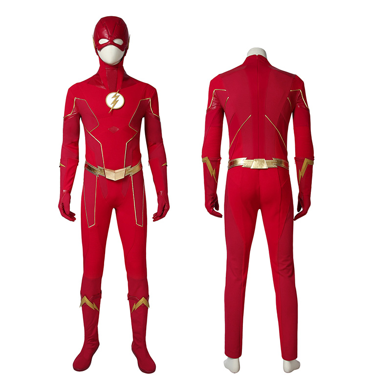 Barry Allen Costume The Flash Season 6 Cosplay Costume