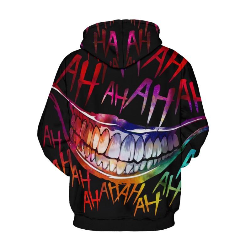 Venom Pattern Long Sleeeve Hoodie