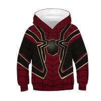 Kids Avengers Endgame Spider Man Long Sleeve Hoodie