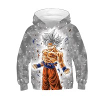 Kids Dragon Ball Son Goku Long Sleeve Hoodie Kakarotto Anime Suit