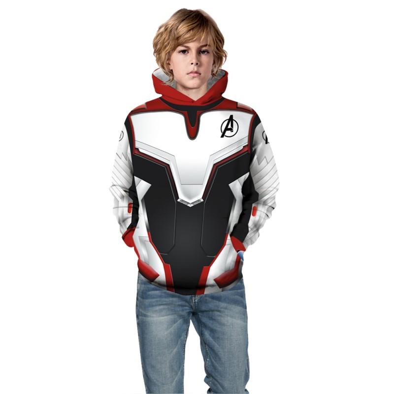 Kids The Avengers Pattern Fashion Hoodie