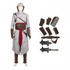 Assassin'S Creed Costume AltairIbn-La'Ahad Cosplay Halloween Game Suit