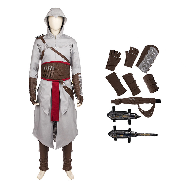 Assassin'S Creed AltairIbn-La'Ahad Cosplay Halloween Game Suit