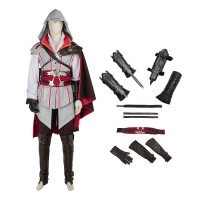 Assassin'S Creed 2 Costume Ezio Auditore Cosplay Costumes