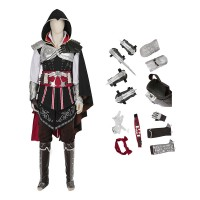 Assassin'S Creed 2 Costume Ezio Auditore Da Firenze Cosplay Game Anime Costumes