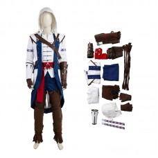 Assassin'S Creed 3 Costume Connor Halloween Cosplay Costumes