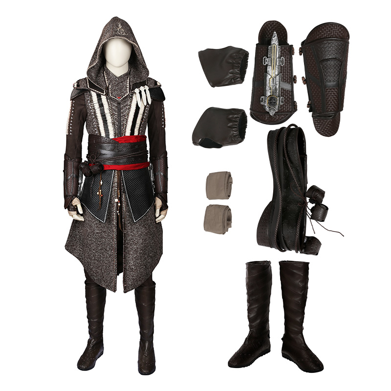 Assassin'S Creed Movie Male Master Callum Lynch Cosplay Costume