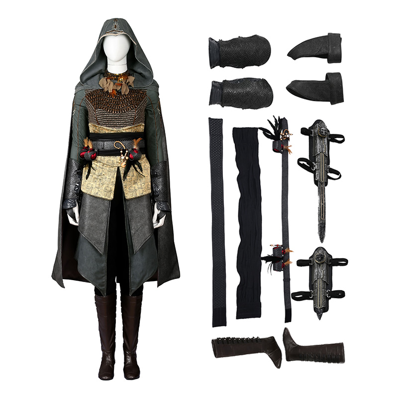 Assassin'S Creed Movie Hostess Maria Cosplay Costume