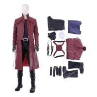 Devil May Cry 5 Dante Cosplay Costume DMC5 Dante Jacket Full Set Costumes