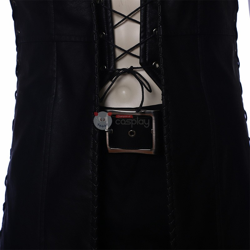 DMC5 Game Devil May Cry V Custome Sleeveless Windbreaker Jacket Cosplay Custome