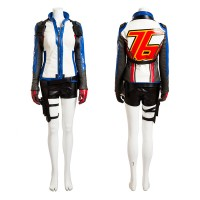 Top Level Overwatch Soldier 76 Female Cosplay Costume