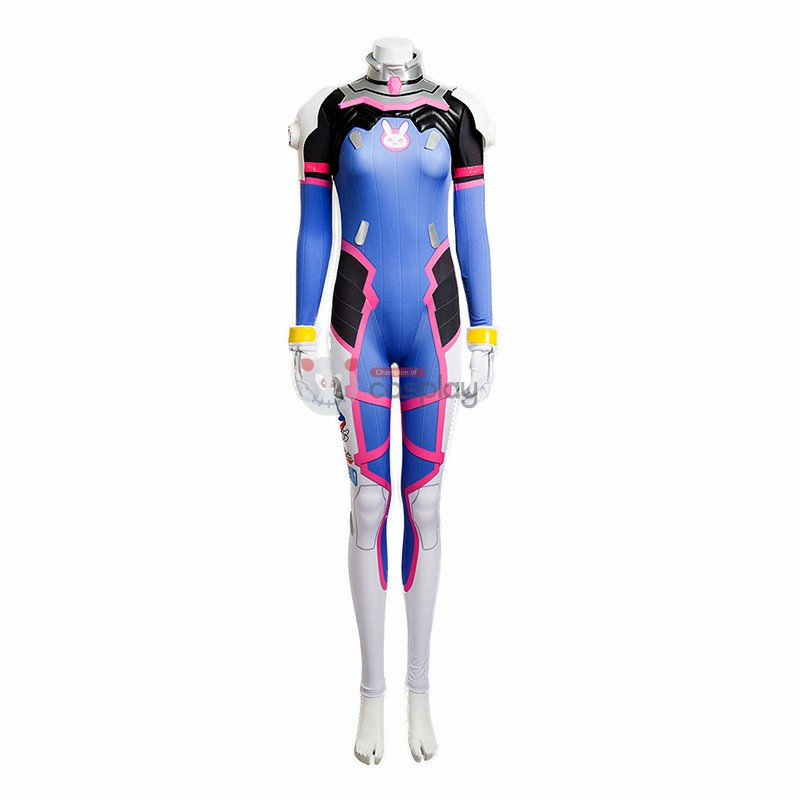 Top Level Overwatch D.Va Hana Song Cosplay Costume