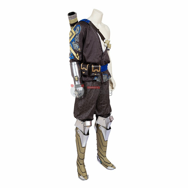 Top Level Overwatch Shimada Hanzo Cosplay Costume