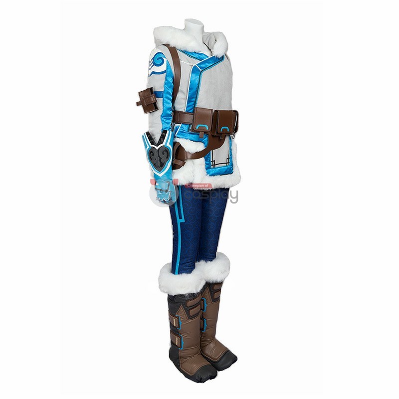 Full Set Overwatch Mei Ling Zhou Cosplay Costume