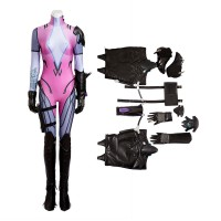 Top Level Overwatch Black widow Amelie Lacroix Cosplay Costume
