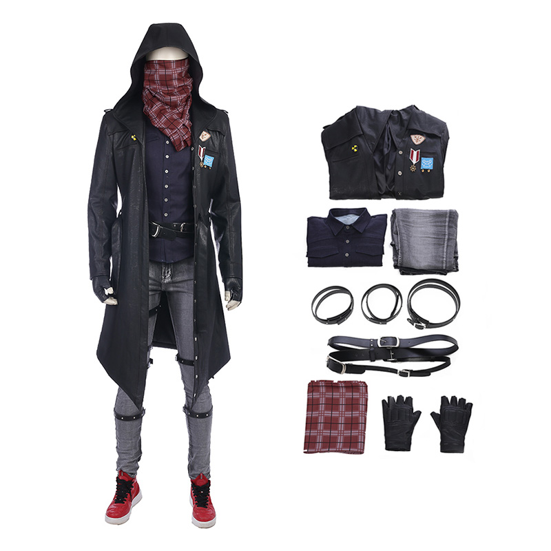 Mobile Game For PUBG Equipment Cosplay Costume