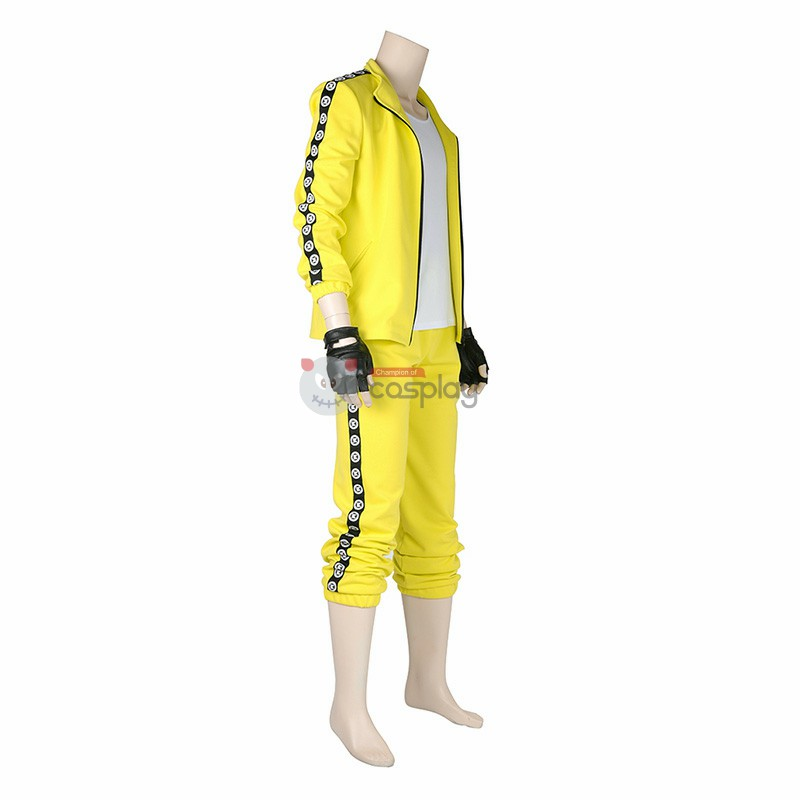 PUBG Yellow Thousand Grasses Battle Royale Cosplay Costume
