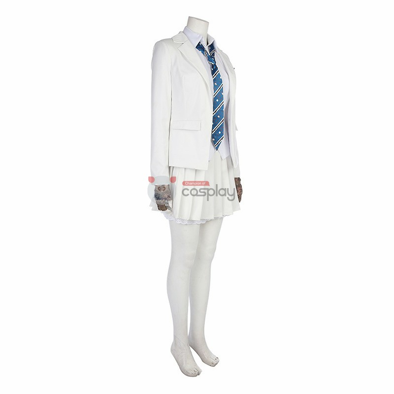 Top Level PUBG School Outfit Girl Cosplay Costume