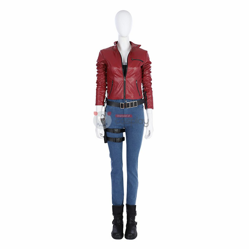 Resident Evil 2 Cosplay Costume Claire Redfield Costumes Top Level
