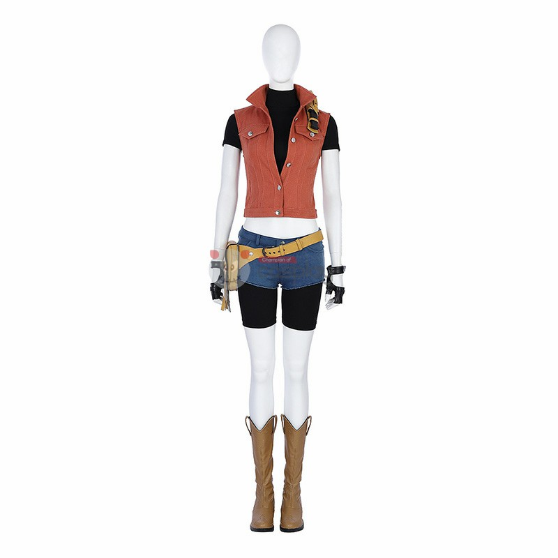 Resident Evil 7 Cosplay Costume Claire Costumes Top Level