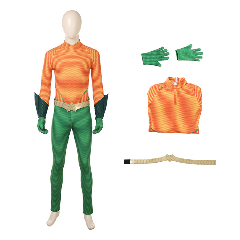 DC Superhero Costumes New Aquaman Cosplay Costume Arthur Curry
