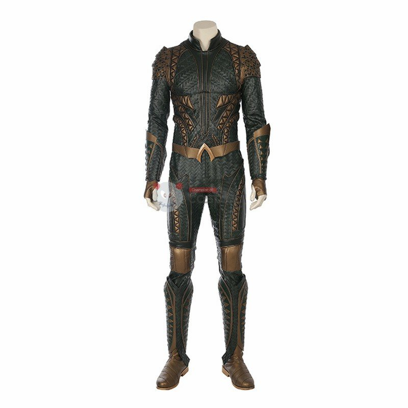 Justice League Arthur Curry Aquaman Cosplay Costume DC Hero Halloween Costume